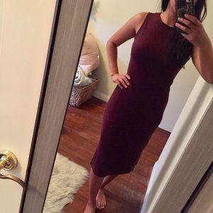 Comfy Business Midi Dress Size XS